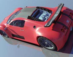 bugatti 3D