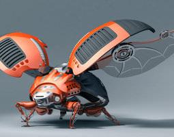 3d ladybug robot