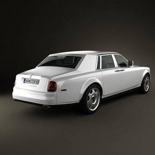 rolls-royce phantom 2011 3d model max obj 3ds fbx c4d lwo lw lws 2