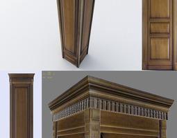 Wooden Column 3D