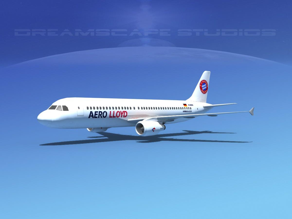 Airbus A320 LP Aero Lloyd