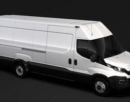 3D model cargo Iveco Daily L5H2 Van 2017