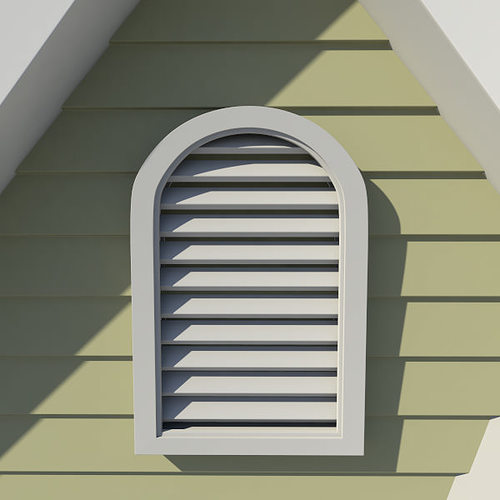 Gable Vent Style 3 3d Cgtrader