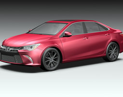 3D model 2015 Toyota Camry