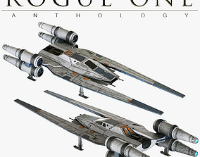 Star Wars U-Wing UT-60D 3D model