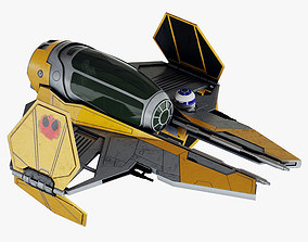 Star Wars ETA-2 Jedi Interceptor 3D