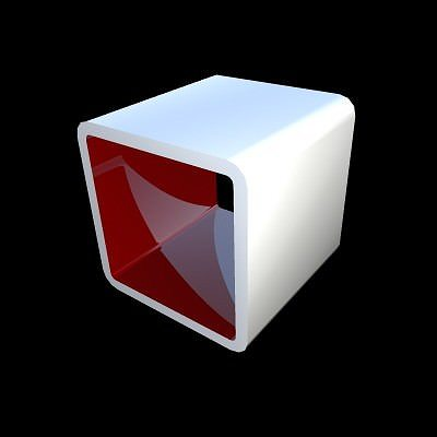 Cube Free Bookcase 3d Living Cgtrader
