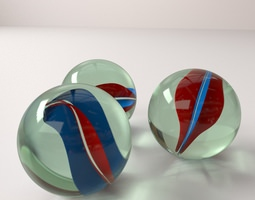 3D model Marbles marble