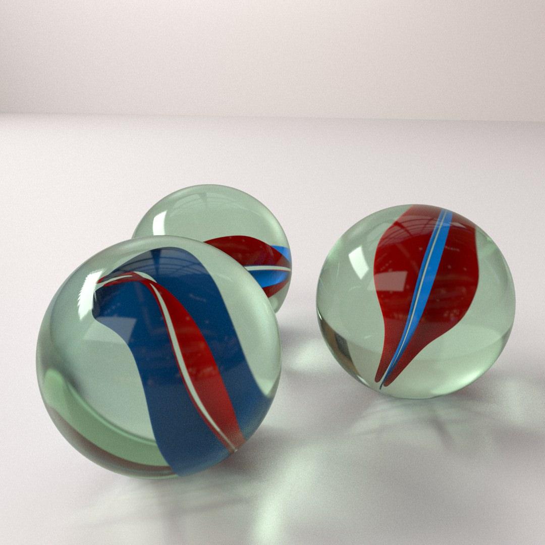 Marbles   3D model