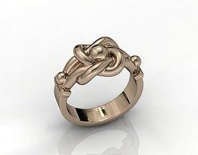 3D print model KNOT ring
