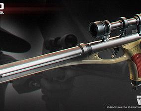 LL-30 blaster pistol 3D print model
