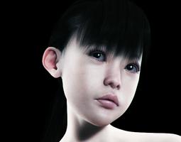 Yukimi for Genesis 2 Female 3D model