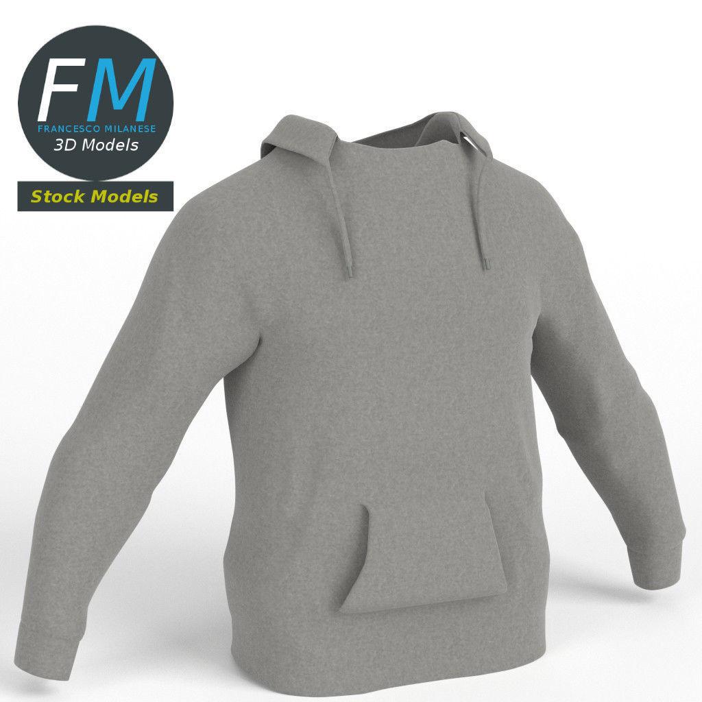Hooded sweater sweatshirt