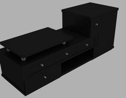 3D asset Living Room Furniture