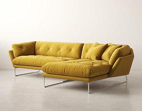 3D model New York Corner Sofa