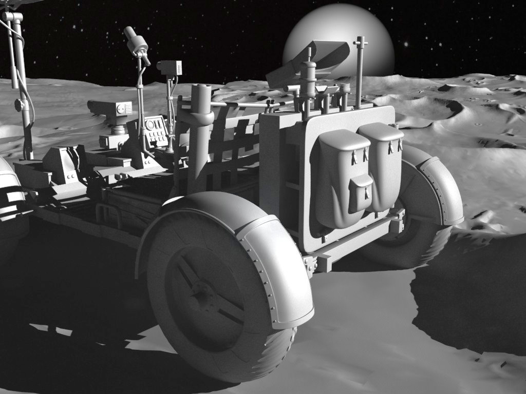 lunar space car - photo #21