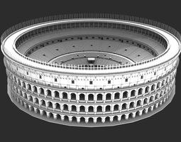 roman ancient colosseum reconstruction 3d model
