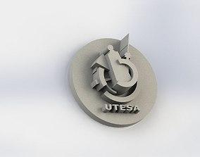 3D print model Customizable Pin Present Ornament