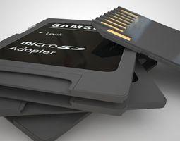 3D Sd Card Adapter