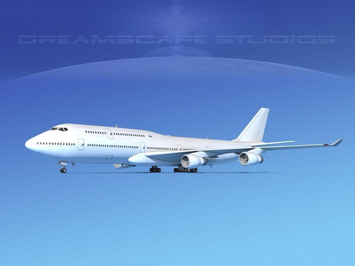 Boeing 747-8I Unmarked