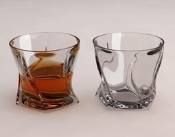 3D model DESIGN-Glass of Whisky Penta V2