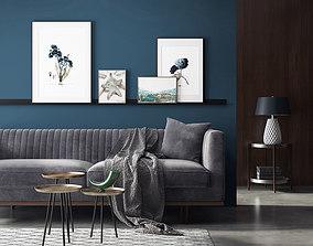 Living Room 122 Interior 3D