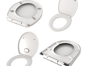 3D model Toilet seat covers collection