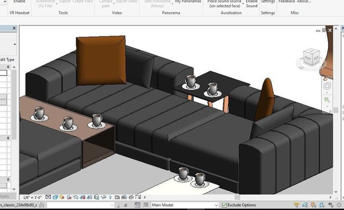 Where Do Interior Designers Get Furniture Rfa File ~ D mode furniture revit cgtrader