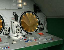 9s467 soviet radar post 3d model max fbx