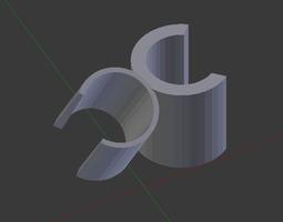 3D printable model Shower Head Holder