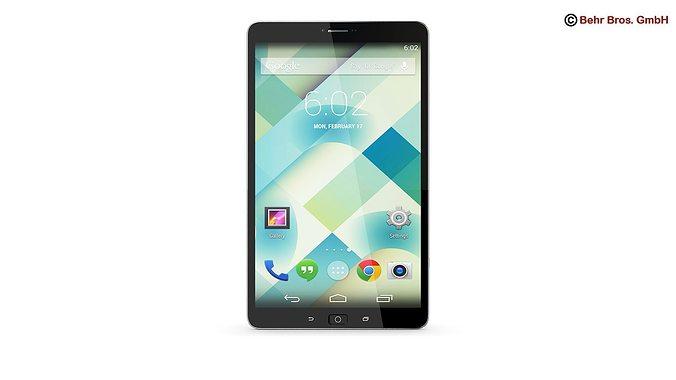 generic tablet 8 4 inch 3d model max obj mtl 3ds fbx c4d lwo lw lws 1