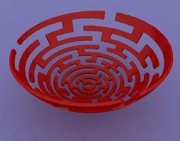 Infinite Mayan Bowl 3D print model
