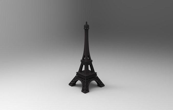 eiffel tower 3d model stl 1