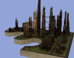 3D Metro City Downtown