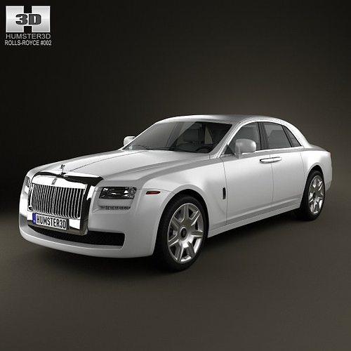 Rolls Royce Ghost 2011 3d Cgtrader