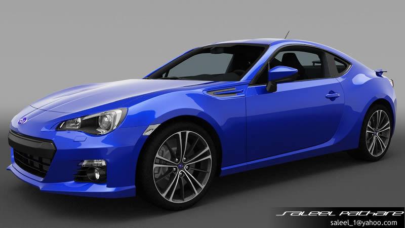 3D model Subaru BRZ 2014 | CGTrader