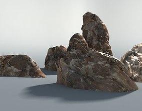 3D asset Realistic rocks