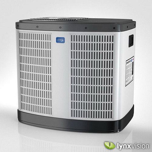 Climate Master Central Air Conditioning Unit 3d Model