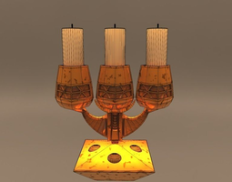CANDELABRUM 2 VERSION 3D model
