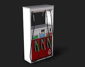 Modern Gas Dispenser Pump 3D asset