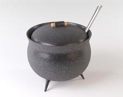 3D Cast iron boiler