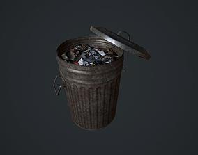 Garbage Bin pbr 3D model