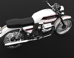 Moto Guzzi V7 Classic Cafe Racer cafe 3D
