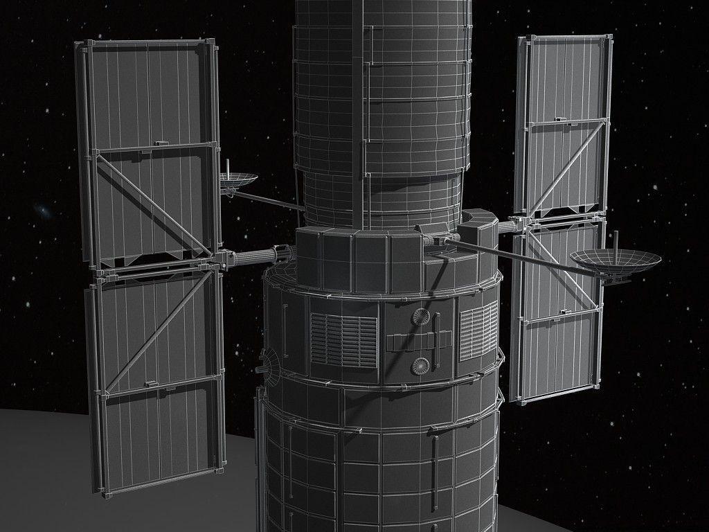 hubble telescope 3d model - photo #29