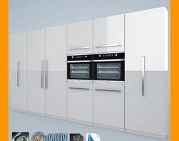 kitchen set 01 3d