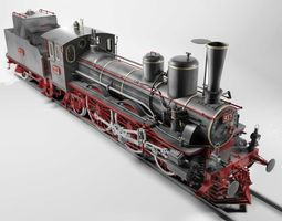3d orleans 1893 steam locomotive