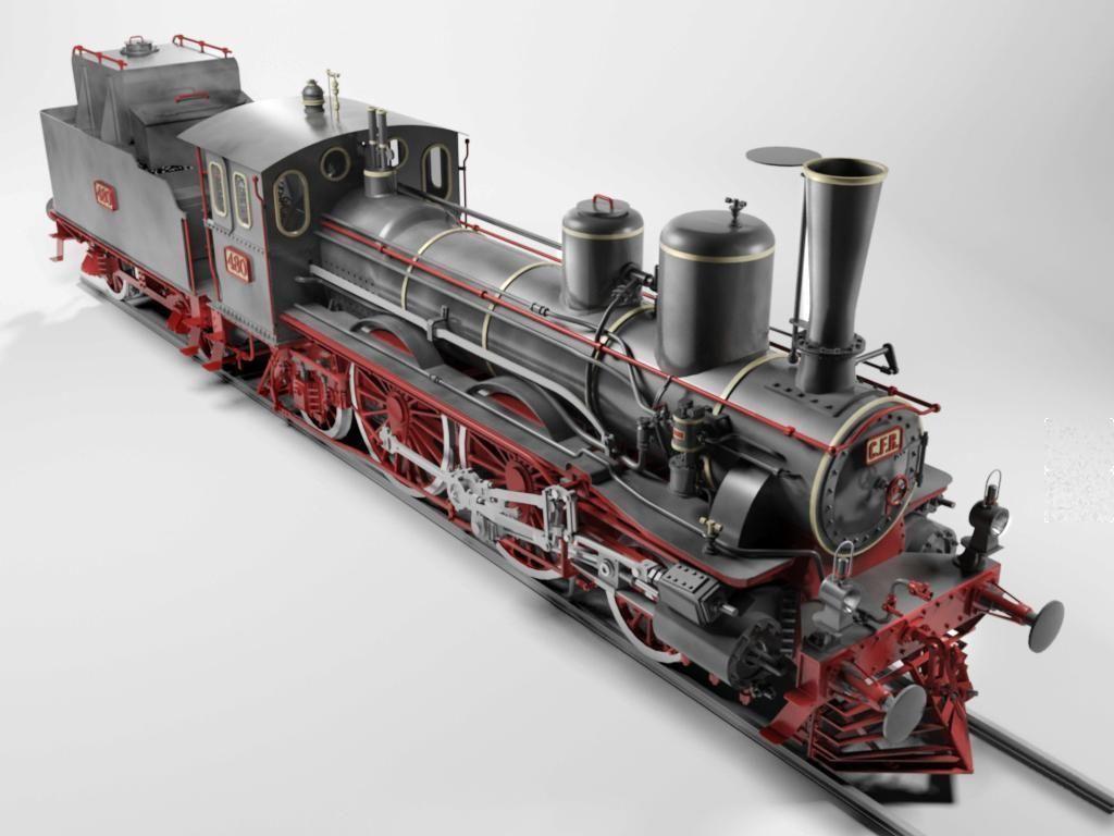 Orleans 1893 Steam Locomotive