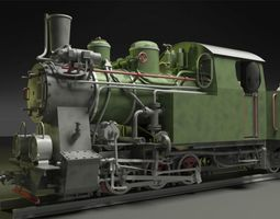 3d py-27 steam locomotive