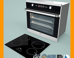 3D Oven And Hob Installation
