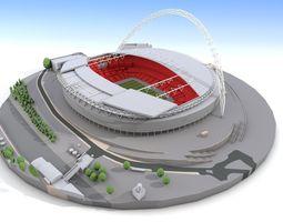 3D Wembley Stadium - London